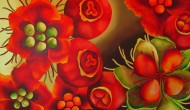 ROSEHIP | 30 x 48 Inches |  Acrylic on Canvas  |  SOLD