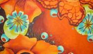 SAFFRON  |  48 x 36 Inches  |  Acrylic on Canvas