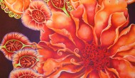 MANDARIN   |  48 x 48 Inches  |  Acrylic on Canvas