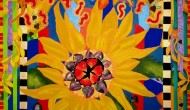 El Girasol  |  Acrylic on Canvas  |  48x36 |  SOLD