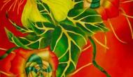 ELISHEVA  Panel 2   |  40 x30 Inches  |  Acrylic on Canvas