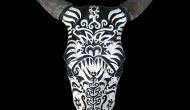 Bull  |  Acrylic on Skull