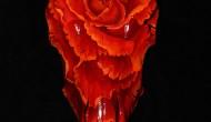 Steer Skull    Acrylic on Skull
