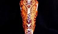Hartebeest    Acrylic on Skull