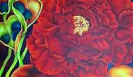 VESUVIUS  |    48 x 48 inches    |   Acrylic